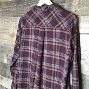 Everly Dresses - Everly Button Up Plaid Shirt Dress with Pockets